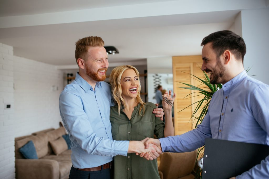 Real estate agents have all the necessary connections