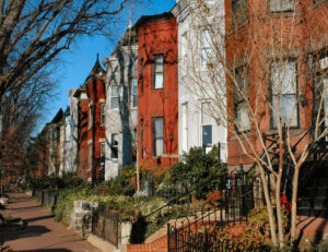 Capitol Hill Rowhouses Townhouses in DC